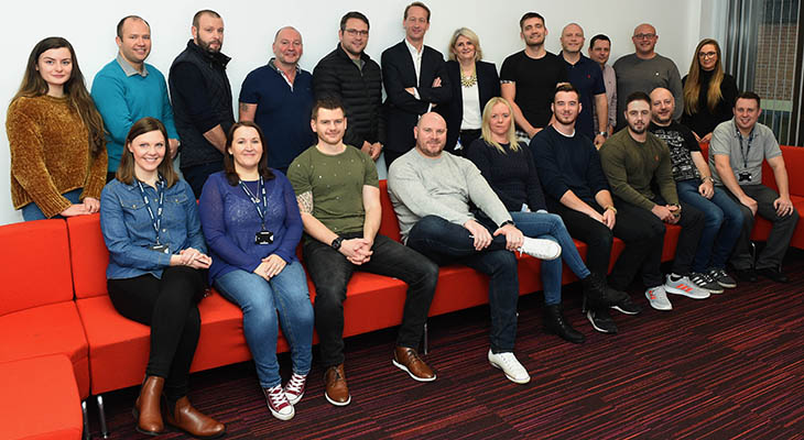 Members of the PD Ports cohort of the Chartered Manager Degree Apprenticeship