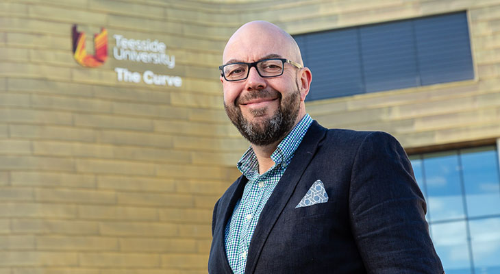 Lee Bramley, Teesside University graduate and Managing Partner of Endeavour Partnership.