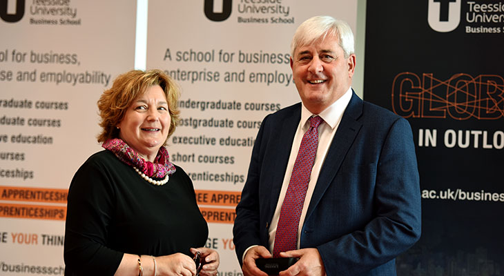 Paul Drechsler CBE and Dr Susan Laing.