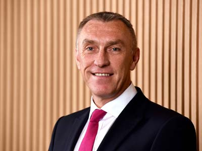 Vice-Chancellor and Chief Executive, Professor Paul Croney