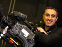 Digital Fellow Amjid Khazir of Iqra which creates films of positive Muslim role models