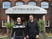 Pharos Creative: Emil Bachvarov (left) and Ivan Jerez (right)