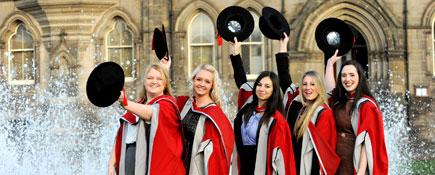 Link to Celebrating academic achievement at Teesside University.