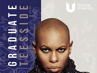 The Teesside Graduate magazine. Link to The Teesside Graduate magazine.